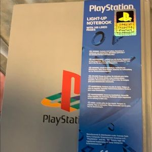 Sony Other - Light up play station journal 100 lined pages
